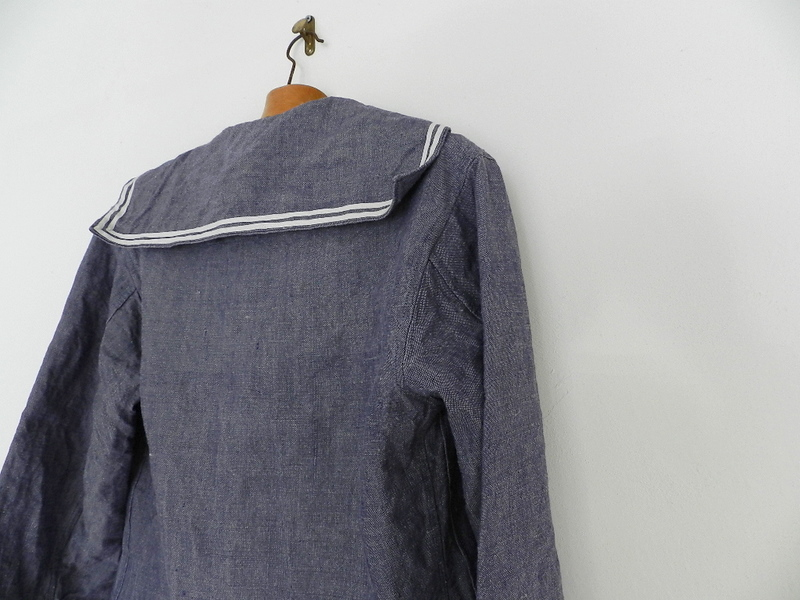 50\'s french marine ramie sailor shirts dead stock _f0226051_11413994.jpg