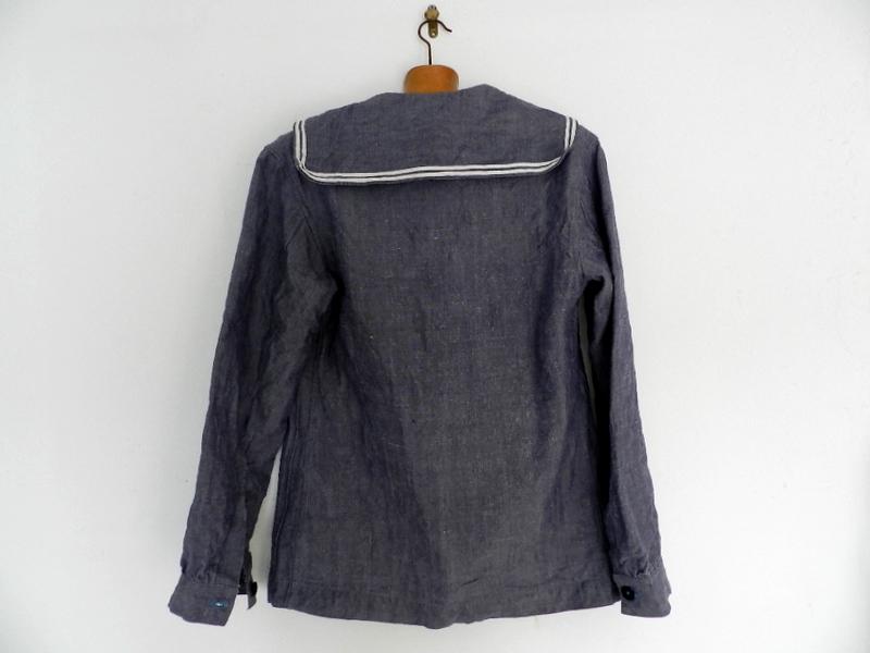 50\'s french marine ramie sailor shirts dead stock _f0226051_1141510.jpg