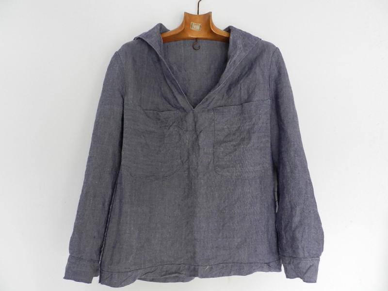 50\'s french marine ramie sailor shirts dead stock _f0226051_1142151.jpg