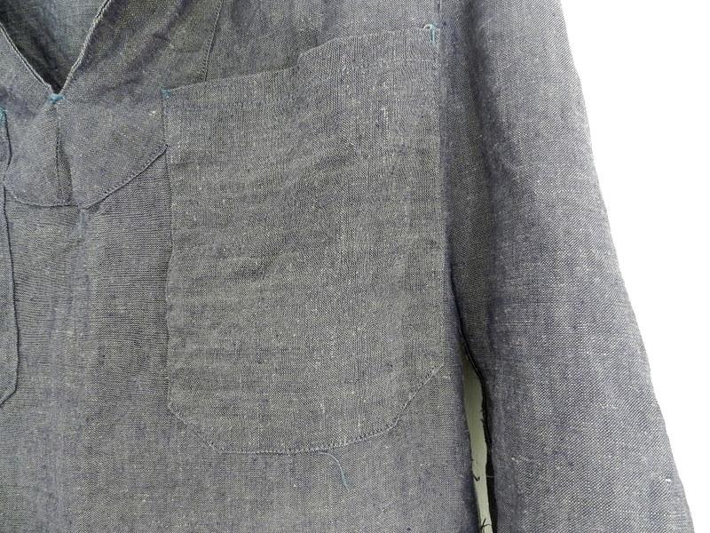 50\'s french marine ramie sailor shirts dead stock _f0226051_1143282.jpg