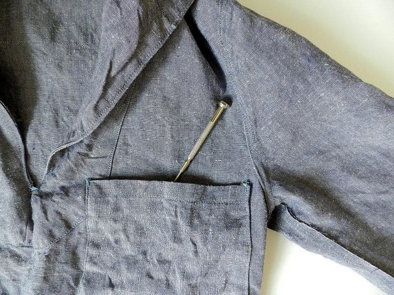 50\'s french marine ramie sailor shirts dead stock _f0226051_1143531.jpg