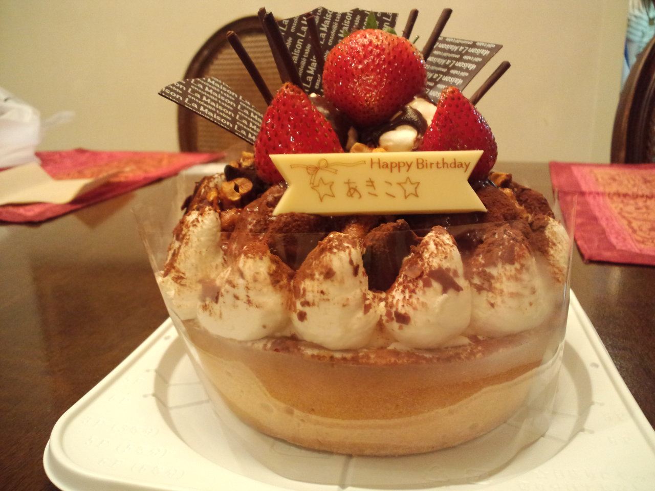 birthday party ☆_c0151965_111647.jpg