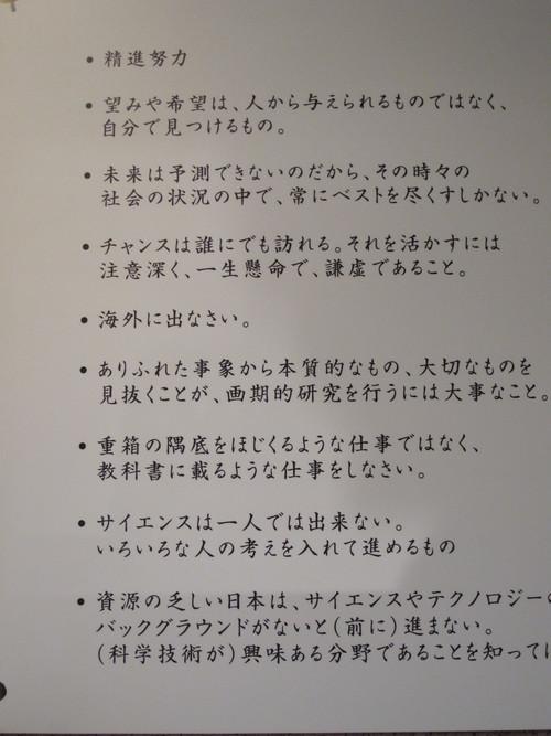 2010年ノーベル化学賞受賞鈴木 章先生から皆様へ贈るメッセージ_c0075701_2046435.jpg