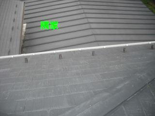 屋根塗装の準備_f0031037_18305918.jpg