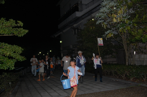 「青白く光るウミホタルのわくわく観察会」 in せんなん里海公園_c0108460_234511100.jpg