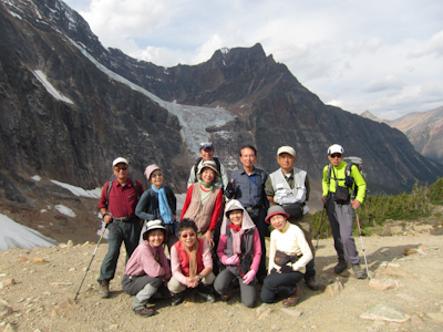 おいらく山岳会木村様グループ極北のユーコンとカナディアンロッキーハイキング10日間(ロッキー編)_d0112928_8284136.jpg