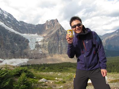 おいらく山岳会木村様グループ極北のユーコンとカナディアンロッキーハイキング10日間(ロッキー編)_d0112928_8292085.jpg