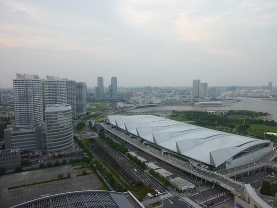 パンパシフィック横浜ベイホテル東急に泊ったよ。_f0054556_140868.jpg