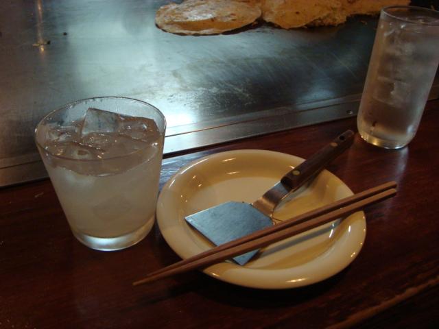 西荻窪「広島流お好み焼き カンラン」へ行く。_f0232060_1735622.jpg