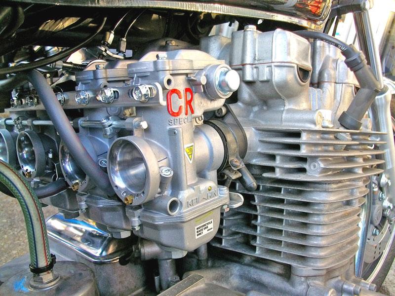 Z1000LTD ケーヒンCR31φキャブレター取り付け&セッティング!_c0086965_12234719.jpg