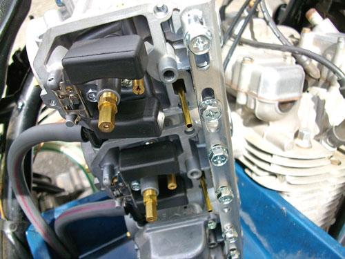 Z1000LTD ケーヒンCR31φキャブレター取り付け&セッティング!_c0086965_12281069.jpg
