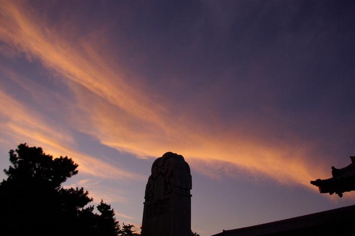 薬師寺観月会の荘厳なゆうべ/A solemn evening of Yakushiji Temple, Nara_e0140365_1283330.jpg