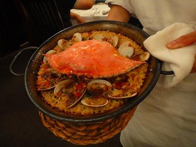スペイン料理 Restaurante LA FUENTE_a0152501_10575546.jpg