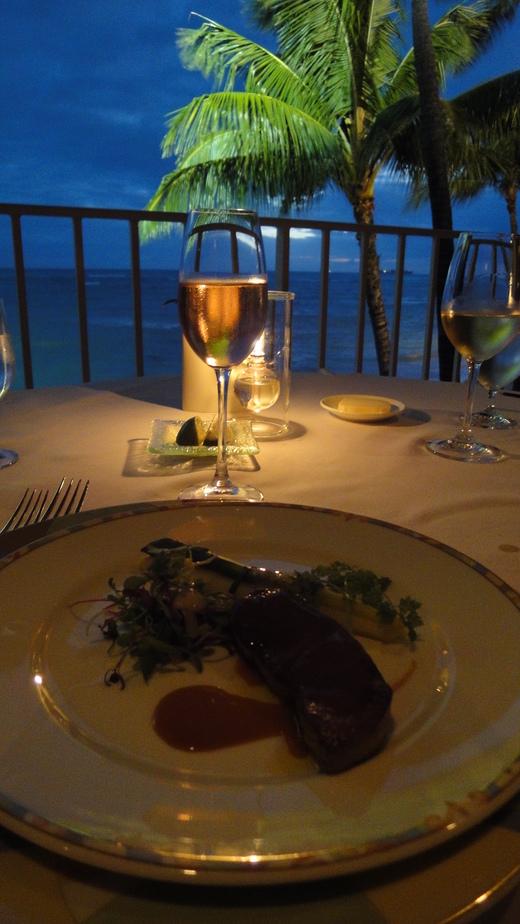 月夜のディナー@ラ・メール_f0215324_2056161.jpg