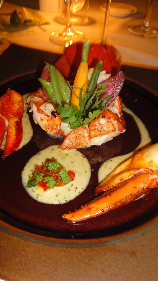 月夜のディナー@ラ・メール_f0215324_20584417.jpg