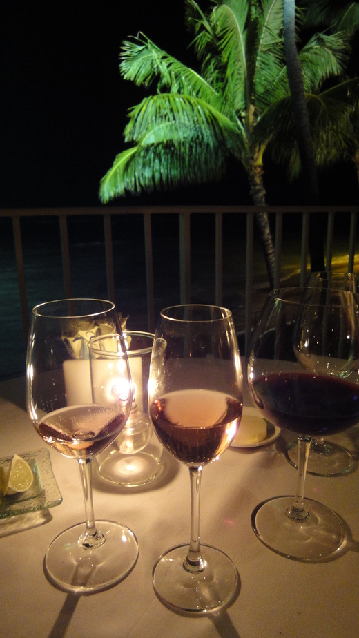 月夜のディナー@ラ・メール_f0215324_2103015.jpg