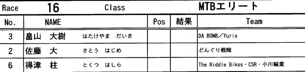 "11\""JOSF JAPAN Open Night Race VOL4:MTBエリート決勝 動画有り_b0065730_10164315.jpg"