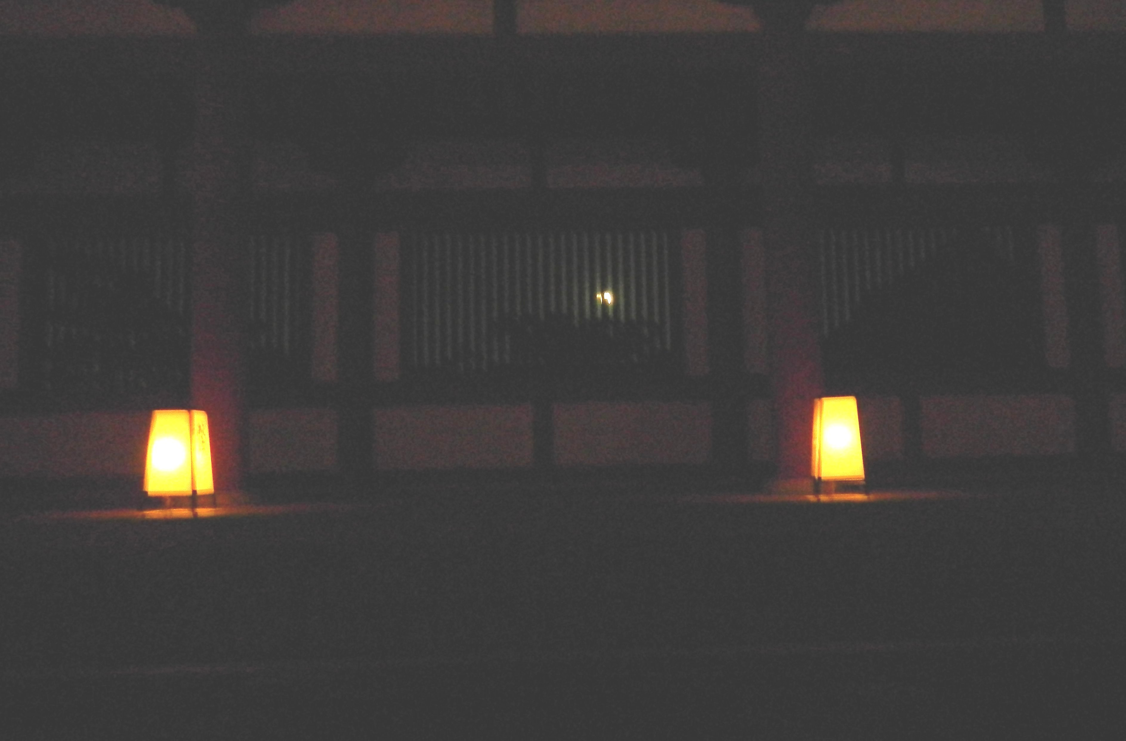 薬師寺観月会の荘厳なゆうべ/A solemn evening of Yakushiji Temple, Nara_e0140365_2345585.jpg