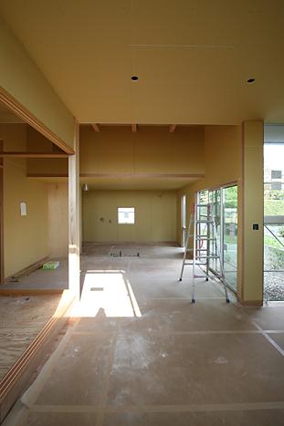 058 M house 吹付完了_c0196892_1553064.jpg