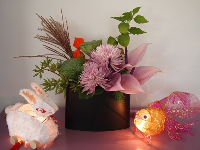 家族で中秋節を祝う☆_d0088196_1037040.jpg