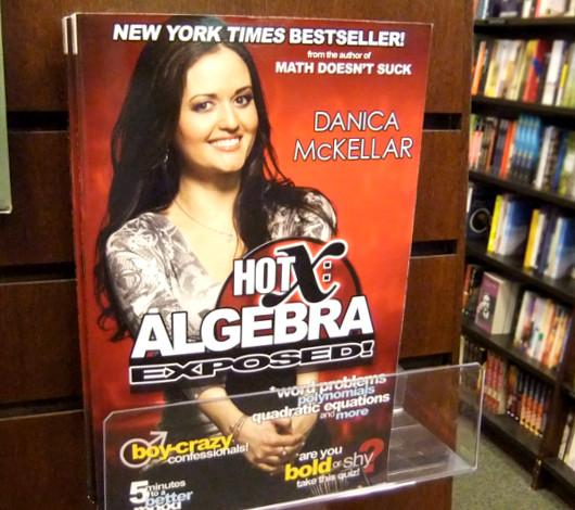 子役から女優、兼、米国No1の売れっ子数学書作家へ Danica McKellarさん_b0007805_0574673.jpg