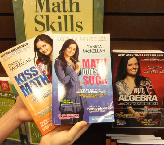 子役から女優、兼、米国No1の売れっ子数学書作家へ Danica McKellarさん_b0007805_058248.jpg