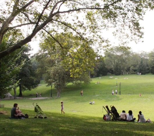 初秋のセントラルパークをお散歩してリラックス_b0007805_8354344.jpg