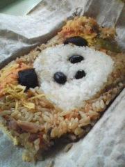 トトロ(所沢ビエンナーレ)VSパンダ(上野動物園) #pandanow #uenozoo #panda #tokorozawa #art_b0074921_16202280.jpg