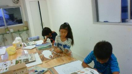 金曜日小学生クラス_b0187423_1333398.jpg
