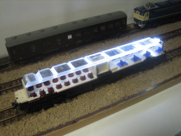 お召列車1号編成(昭和仕様)をイジる その2_e0120143_22585866.jpg