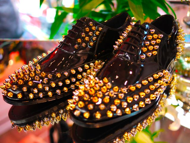 STUDS DRESS SHOES_d0181776_21503111.jpg