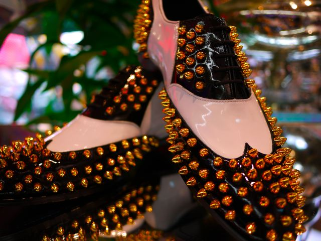 STUDS DRESS SHOES_d0181776_21504239.jpg