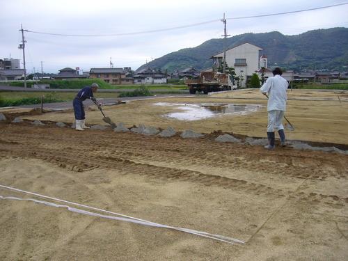 西讃にて工事着工!_e0064493_1542129.jpg