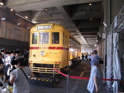 江戸東京博物館「東京の交通100年博」 ササラ電車・甦った6000形_f0030574_221988.jpg