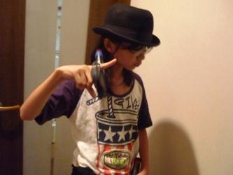 工作マニアの小学生、本日は「拳銃の魔術師」。_e0188087_21531065.jpg