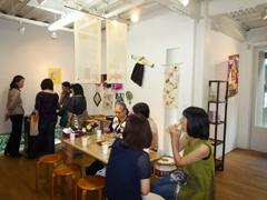 2011/9月 『ポジャギ展』~あじさい2011~_e0189606_16454127.jpg