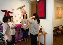 2011/9月 『ポジャギ展』~あじさい2011~_e0189606_16481645.jpg