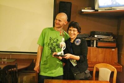 マドモアゼル・シネマが観客賞を授与されたのだ!_d0178431_1594732.jpg