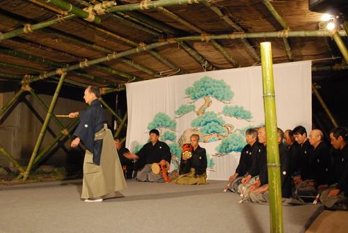 祭り当日!〜竹のパビリオン編〜_a0232235_0562497.jpg