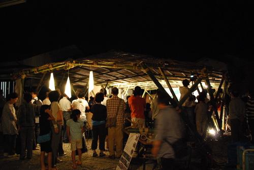 祭り当日!〜竹のパビリオン編〜_a0232235_135172.jpg