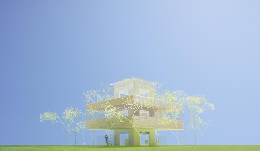 新宿パークタワー 世界住宅会議 模型出展中!_e0189939_16112491.jpg