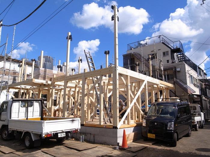 西新宿の家の建方_f0223603_730038.jpg