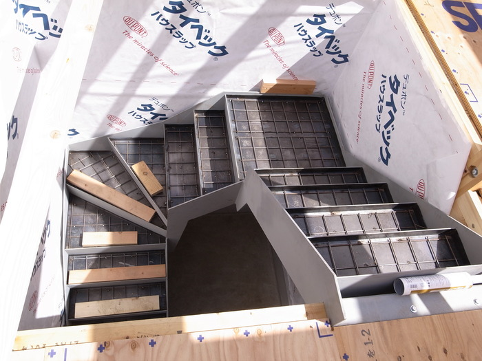 西新宿の家の建方_f0223603_7332247.jpg
