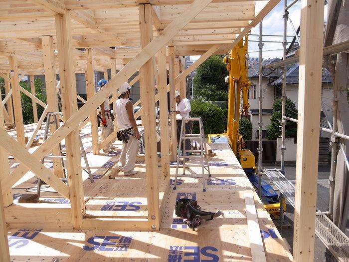 西新宿の家の建方_f0223603_735167.jpg