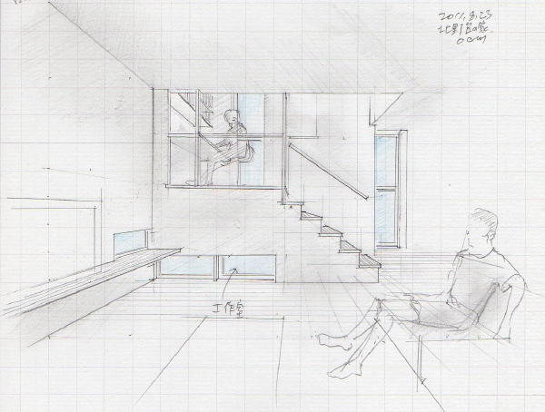 「北野台の家」計画案 2011.6~9_f0230666_14492121.jpg