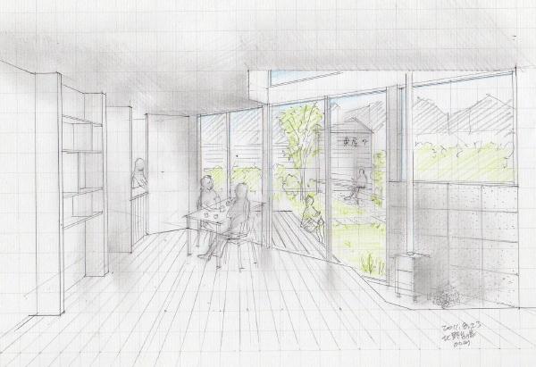 「北野台の家」計画案 2011.6~9_f0230666_1450162.jpg