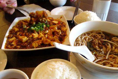 The Shanghai Kitchenの麻婆豆腐♪_d0129786_13354364.jpg