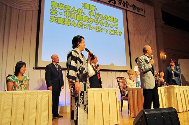 平川幸男芸能生活55周年記念ディナーショー_b0083801_4295017.jpg