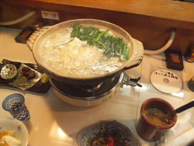 ちゃんこ湯豆腐_e0116211_145592.jpg