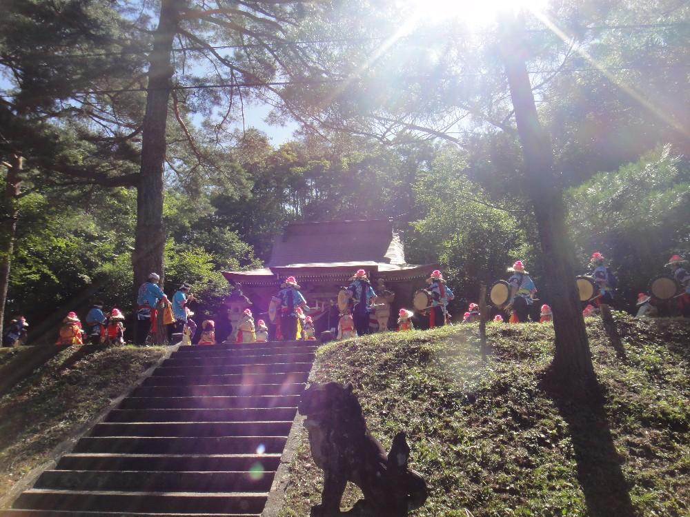 砥森神社例祭(渡御)_c0111229_1934457.jpg